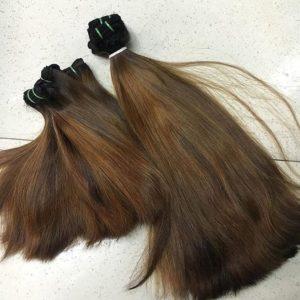 straight super double drawn hair