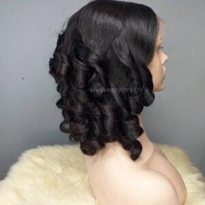Oreke Bouncy Curls Wig Ear to Ear Frontal