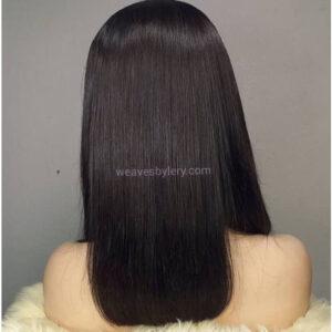 "Super Double Drawn Straight Wig 14"""