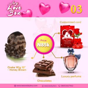 Valentine Gift Box - Lery Love Box 03