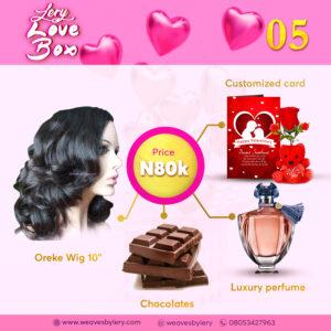 Valentine Lery Love Box